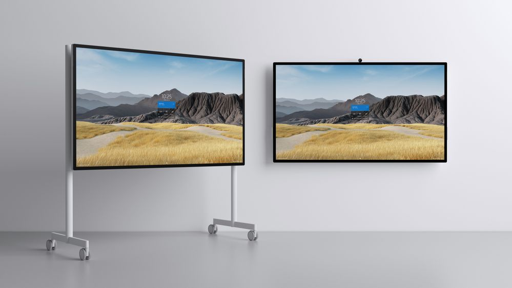 Surface Hub 2S 85_rolling stand and wall mounted jpg.jpg