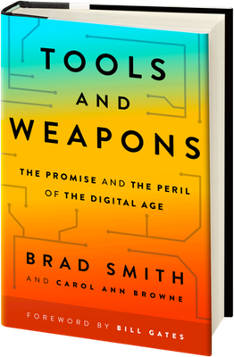 Tools and Weapons book - https://www.amazon.com/Tools-Weapons-Promise-Peril-Digital/dp/1529351561