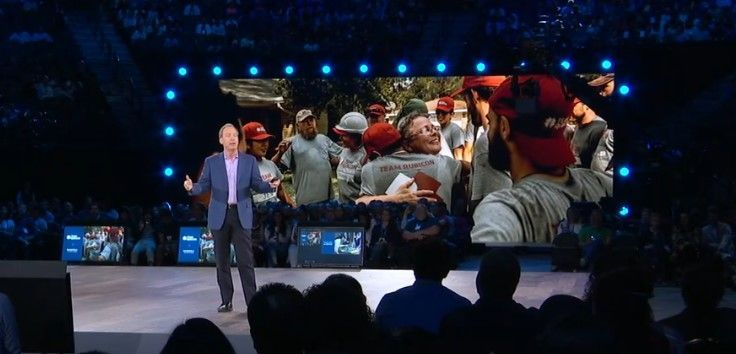 Team Rubicon featured in Brad Smith's Corenote, Inspire 2019