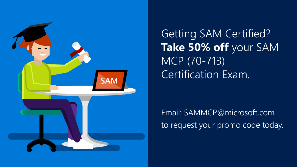 Solved limited offer sam 70 713 mcp exam 50 off voucher solved limited offer sam 70 713 mcp exam 50 off voucher microsoft partner community 1betcityfo Images